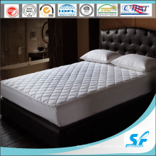 100%Cotton Pattern Quilting Mattress Protector with Skirt